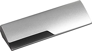 Aluminum Eyeglass Case For Small Frames In Black Or Silver