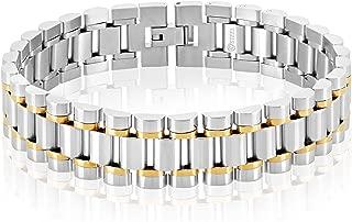 Best stainless steel president bracelet Reviews