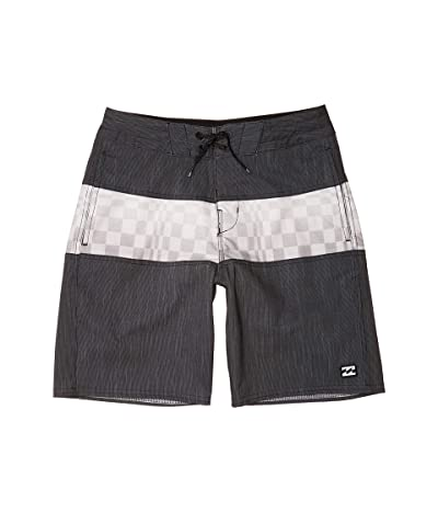 Billabong Kids Tribong Lo Tides Swim Shorts (Big Kids) (Stealth) Boy