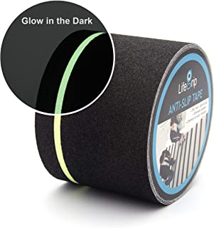 Anti Slip Traction Tape with Glow in Dark Green Stripe, 4 Inch x 30 Foot – Best..