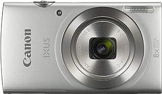 كاميرا بوينت اند شوت اي اكس يو اس 185 بدقة 20 ميجابكسل باللون الفضي من كانون
