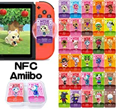30 Pcs NFC Cards for Amiibo Animal Crossing New Horizons, Game Cards for Switch/Switch Lite, Wii U, and 3DS, with Storage Box photo