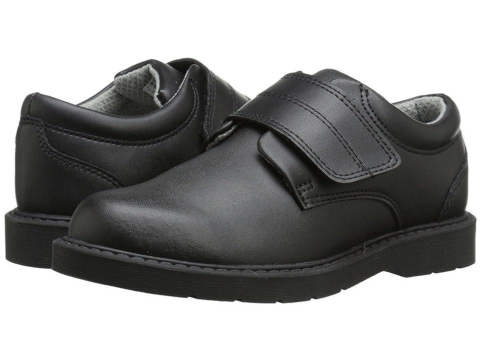 School Issue Scholar HL (Toddler/Little Kid/Big Kid) (Black Leather) Boys Shoes