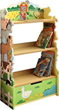 Fantasy Fields - Happy Farm Animals Thematic Kids Wooden Bookcase with Storage | Imagination Inspiring Hand Crafted & Hand...