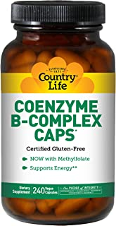 Best country life coenzyme b complex 240 Reviews