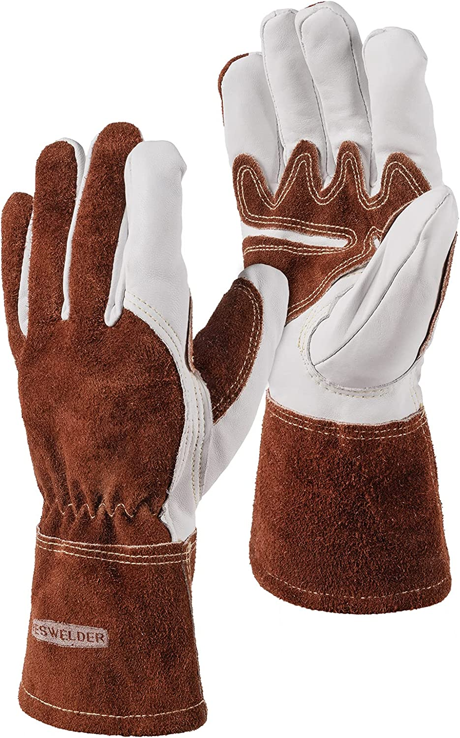 YESWELDER Welding Gloves for TIG Japan Maker New Heat Le Durable New Shipping Free Shipping Spark Resistant