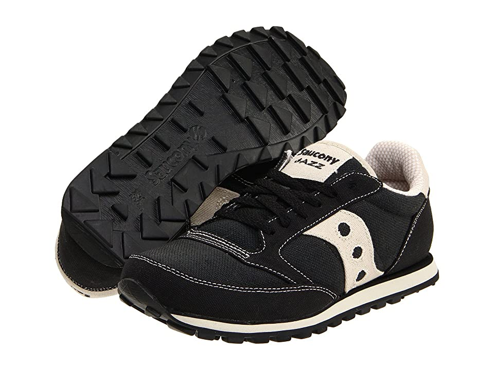 Saucony Originals Jazz Low Pro Vegan (Black/Oatmeal) Men