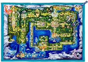 PC Pokemon Pika Vee Pokemon Town Map Manta pequeña