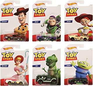 Hot Wheels Mattel Diney Pixar Toy Story Set of 6
