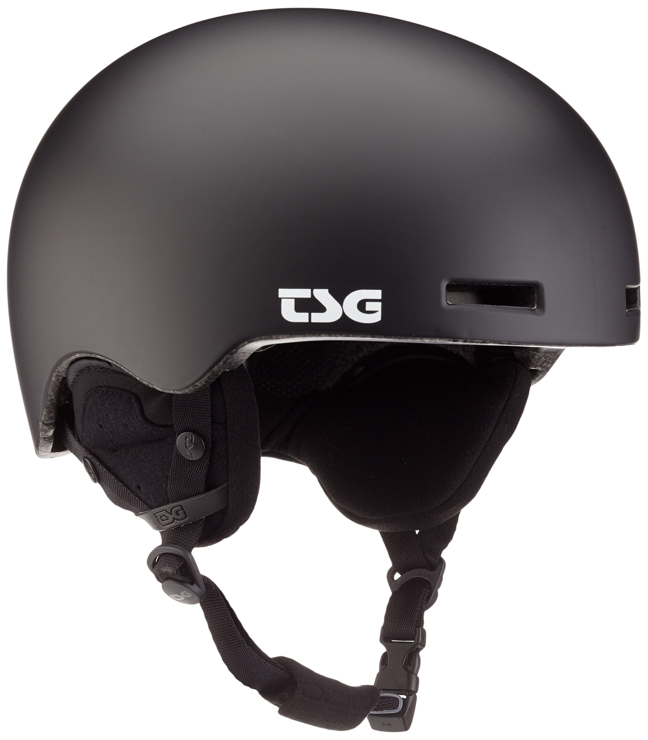 TSG Fly Solid Color II Helm, Satin Black, L/XL