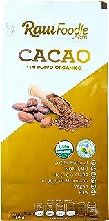 Raw Foodie Cacao en Polvo Orgánico 450 g