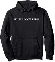 Wild Aloof Rebel Hoodie Pullover Sweatshirt / White Font