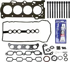 NEW EF00044HBSI Full Gasket Set (Top & Bottom), RTV Silicone, & Head Bolt Kit for Toyota 1.8L 1ZZFE 00-07