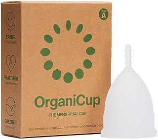 comprar comparacion Copa menstrual OrganiCup - Talla A/pequeña - Ganadora del los AllergyAwards 2019 - Aprobada por la FDA - Silicona suave, f...