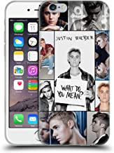 Official Justin Bieber Grid Poster Purpose Soft Gel Case Compatible for iPhone 6 / iPhone 6s