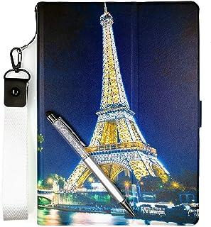 ケース タブレット Case For Dragon Touch Notepad 102 10-イン ケース PU 超薄型 最軽量 三つ折 保護 TT