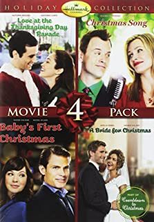 Hallmark Holiday Collection 4 Christmas Song/Baby's First Christmas/Bride for Christmas/Thanksgiving Day Parade