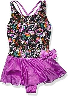Girls Big Rainbow Bows Dance Dress