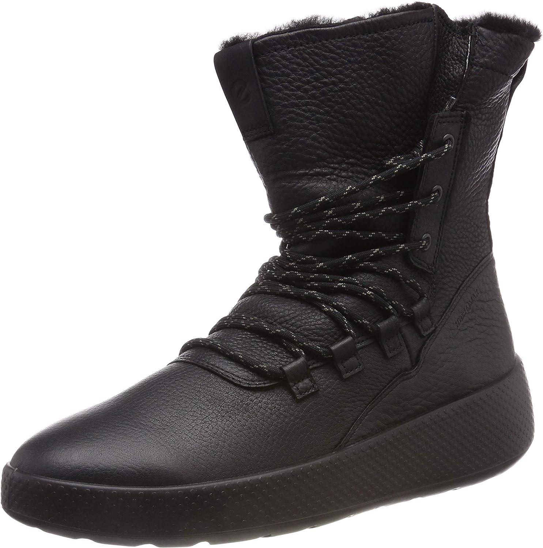 ECCO Womens Ukiuk Lace Boot Boots