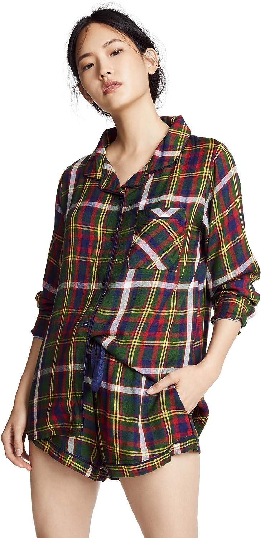 Plush Ultra Soft Woven Pajama Set