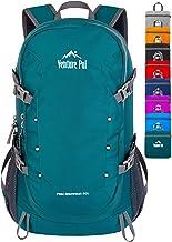 کوله پشتی بسته بندی شده سبک وزن Venture Pal 40L با جیب مرطوب - بادوام سفر مقاوم در برابر آب سفر پیاده روی کمپینگ در فضای باز روزانه برای مردان