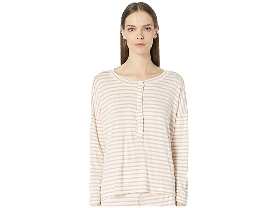 Maison Du Soir Courtney Top (Rose Stripe) Women