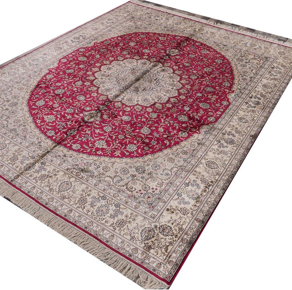Camel Carpet Vintage Over item handling Nain Persian Hand H Silk Rugs Made Industry No. 1 Oriental