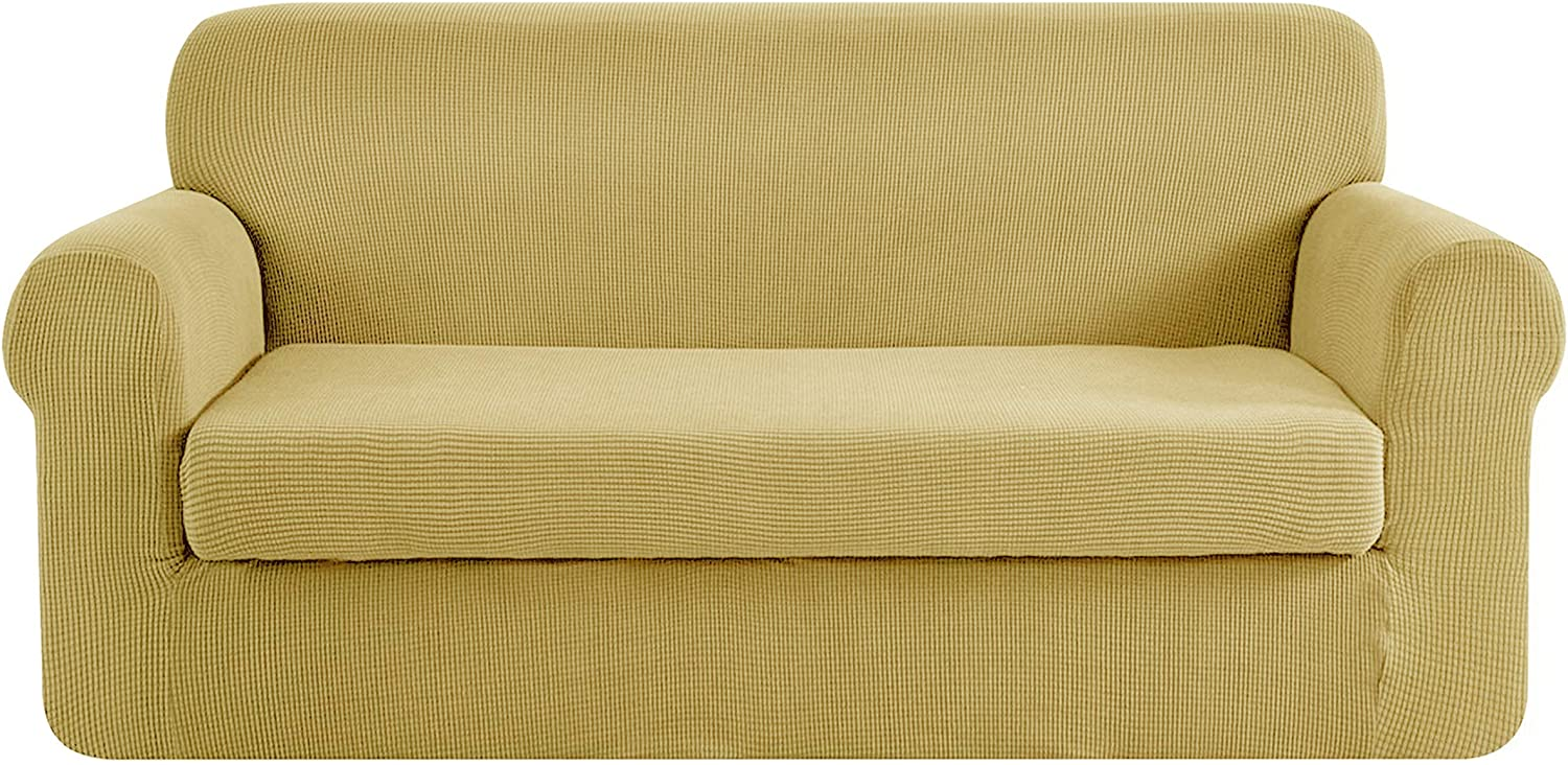 CHUN YI Stretch Sofa Slipcover 2-Piece Seater Challenge the lowest price of Japan 3 Special price Cover Set Couch