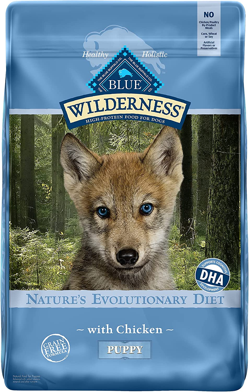 Blue Buffalo Wilderness Puppy Chicken Recipe