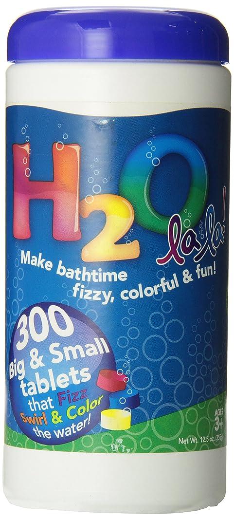 同情的ピック葉色私のBath h2o La La Color Changingバスタブレット、300-piece