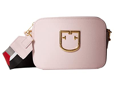 Furla Brava Mini Crossbody (Camelia) Handbags