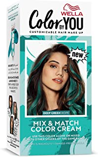 Wella Color by You Mix & Match Hair Color Cream Deep Green Hope