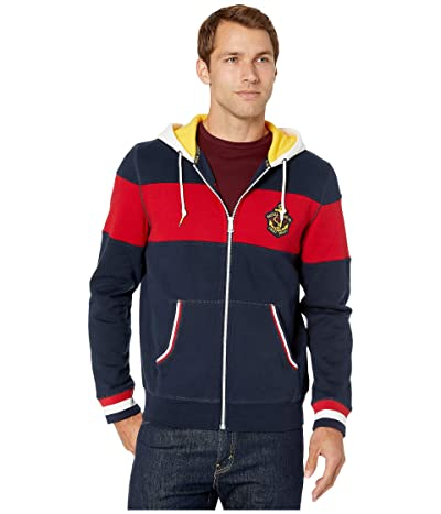 Nautica NJC Full Zip Hoodie (Navy) Men