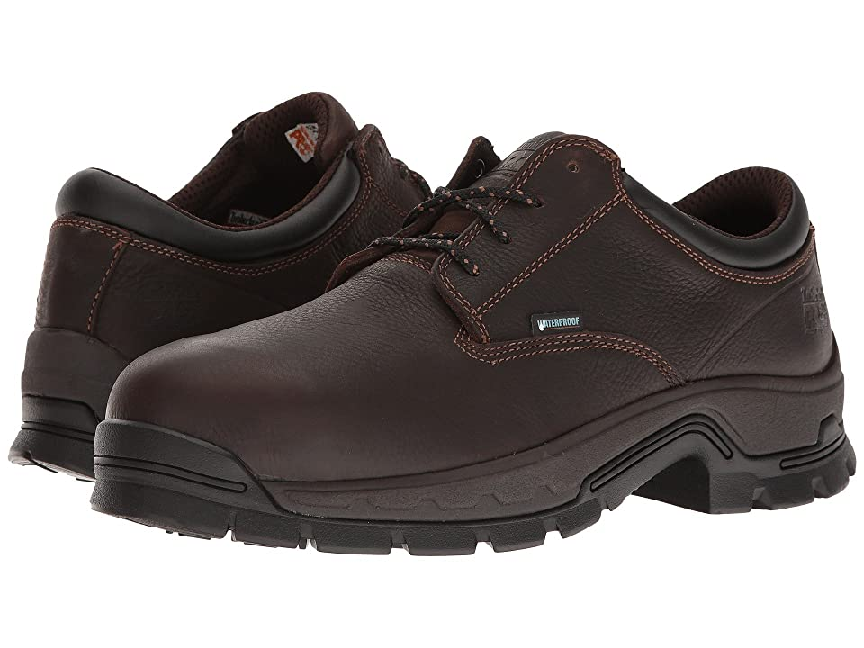 Timberland PRO Stockdale Alloy Safety Toe Waterproof Boot (Brown Full-Grain Leather) Men