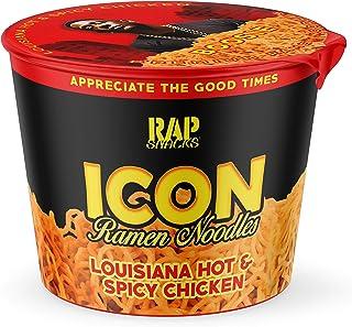 Rap Snacks Lil Boosie, Hot & Spicy Chicken Ramen Noodles, 2.25 oz, Pack of 12