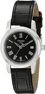 Tissot Women's T0332101605300 Classic Dream Analog Display Swiss Quartz Black Watch