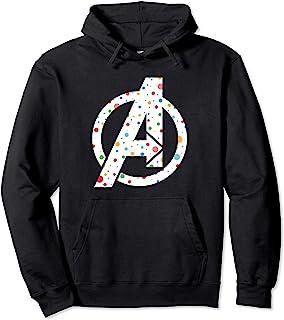 Marvel Avengers A Logo Polka Dots Sweat à Capuche