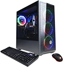 CyberpowerPC Gamer Xtreme VR Gaming PC, Intel i5-10400F 2.9GHz, GeForce GTX 1660 Super 6GB, 8GB DDR4, 500GB NVMe SSD, WiFi...