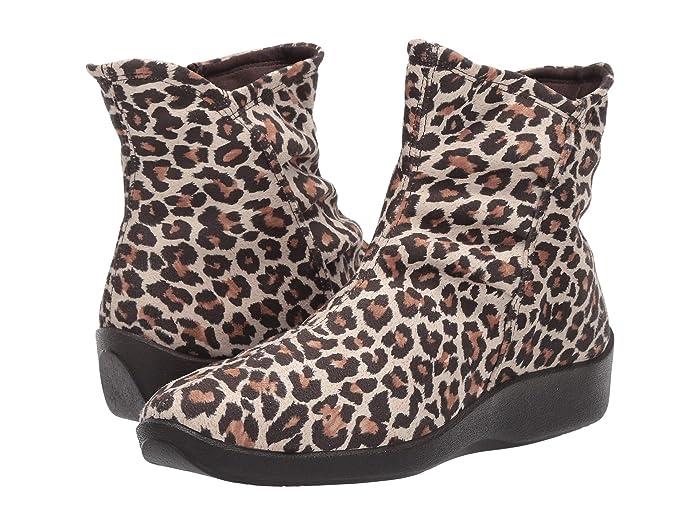 Arcopedico  L19 (Leopard Print) Womens Zip Boots