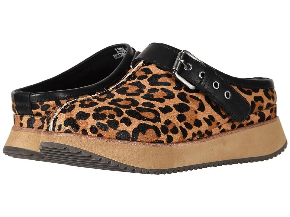 Earth Lyra (Brown Multi/Leopard Print Fur) Women