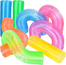 Extra Long Spring Toy - (Pack of 12) Super Long Magic Coil Springs Assorted Neon Colors, Perfect Spring Party Favor, Goody Bag Filler & Prizes for Kids