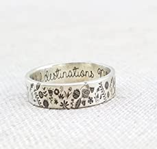 Sterling Silver Cat Ring /· Pet Jewelry /· Silver Ring /· Cute Ring /· Ive Got Felines For You /· Cat Lady Gift /· Select Size /· By Emily Jane Designs