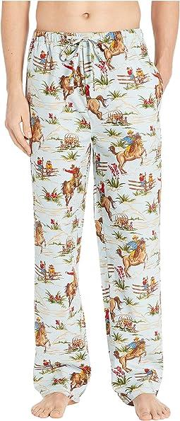 Cowboy Pajama Pants