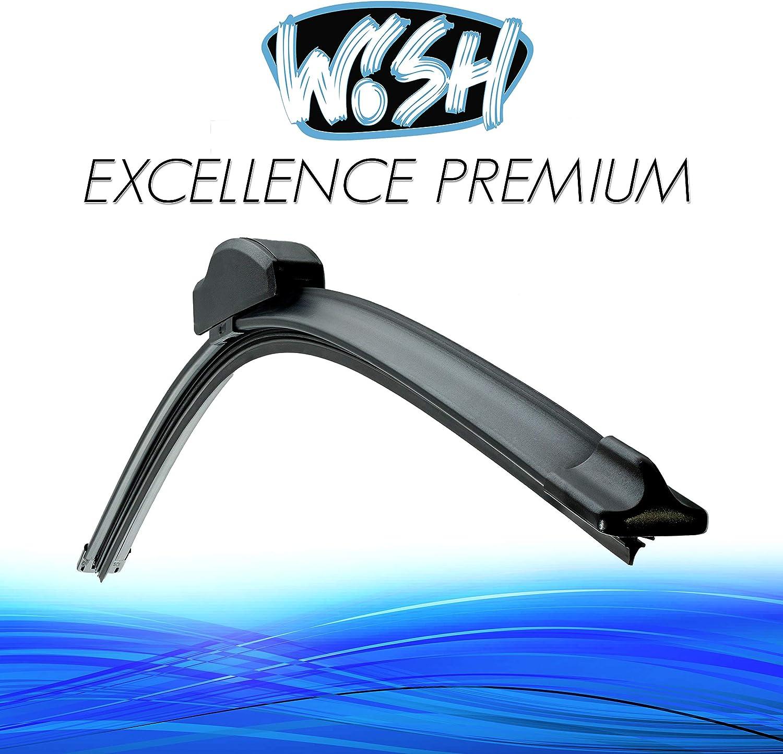 Wish Excellence Premium Front Scheibenwischer Länge 26 650mm Wischblatt Vorne Flachbalkenwischer Ep26 Auto