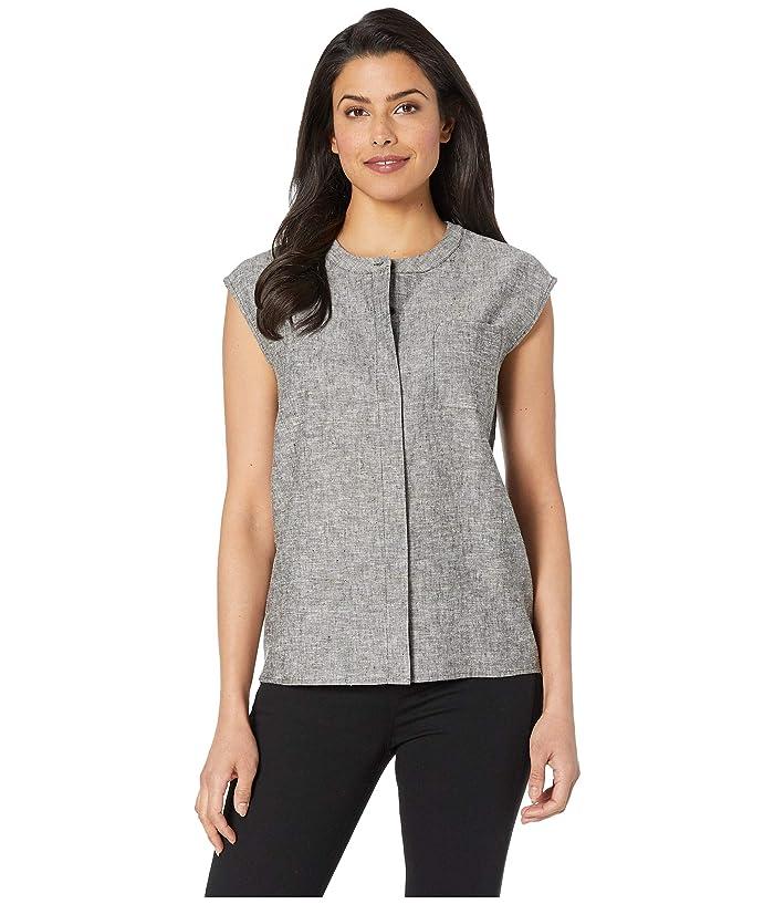 Pendleton Sleeveless Beach Shirt Solid (Black Chambray) Women