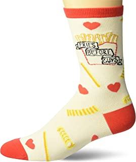 Women's Fun with Words Novelty Saying Crew Socks