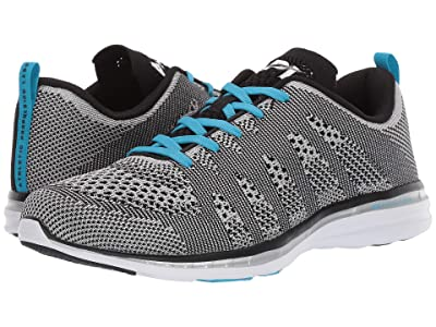 Athletic Propulsion Labs (APL) Techloom Pro (Metallic Silver/Black/Blue Flame) Men