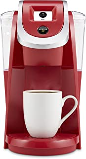 Keurig K250 Coffee Maker, Single Serve K-Cup Pod Coffee Brewer, With Strength Control, Strawberry