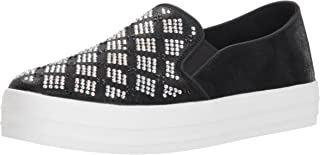 Skechers Womens 747 Double Up - Stained Glass Black Size: