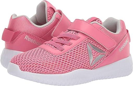 Pink/Silver/White